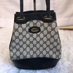 Vintage Gucci Bucket Bag